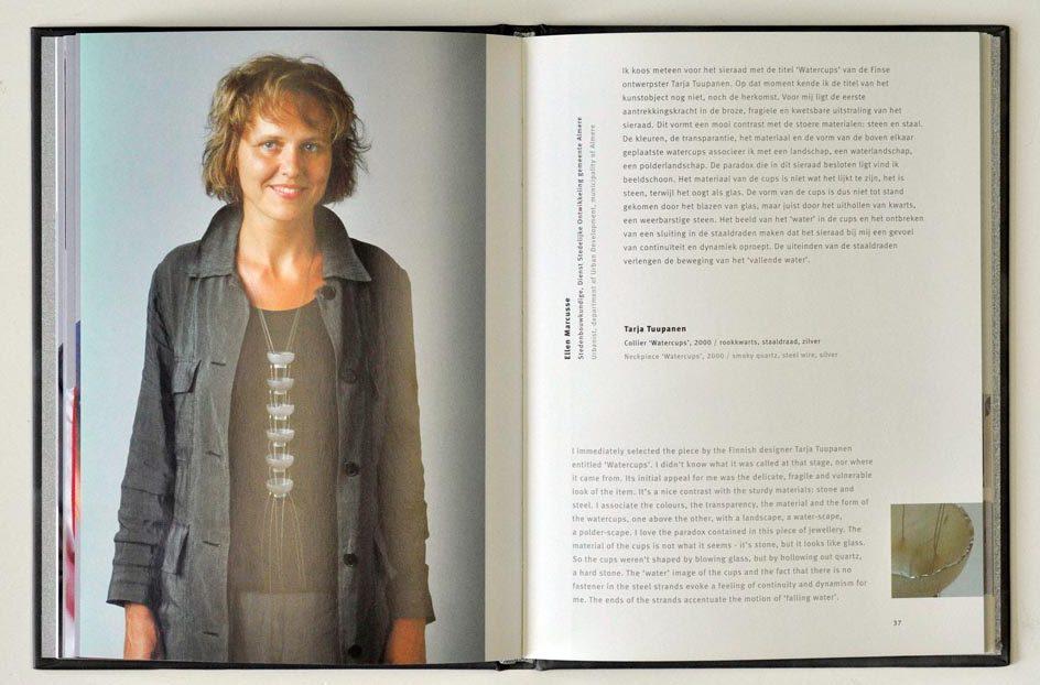Sieraden, de keuze van Almere. Foto met dank aan Galerie Marzee©