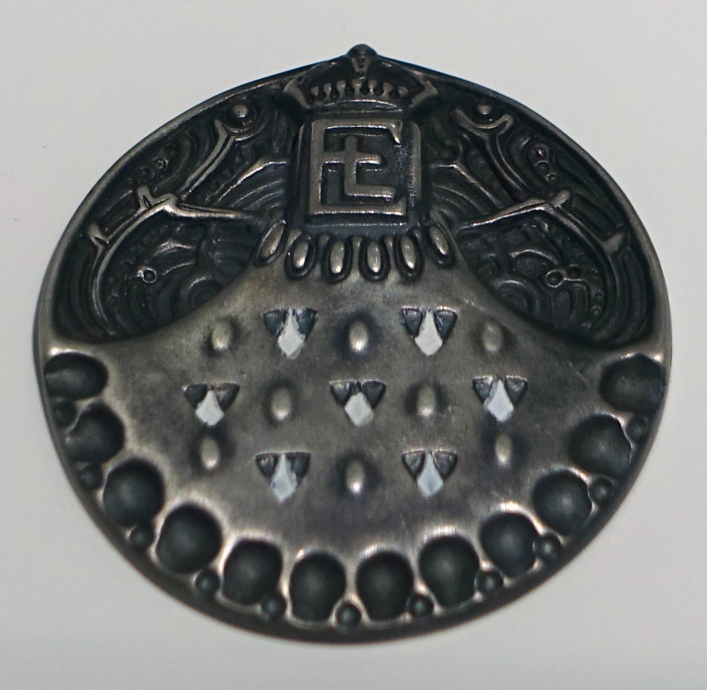 Paul Haustein, medaille, 1904, Collectie Hessisches Landesmuseum. Foto met dank aan Wikimedia Commons, Daderot, publiek domein (CC0 1.0)