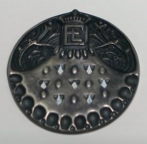 Paul Haustein, medaille, 1904, Collectie Hessisches Landesmuseum. Foto met dank aan Wikimedia Commons, Daderot, publiek domein