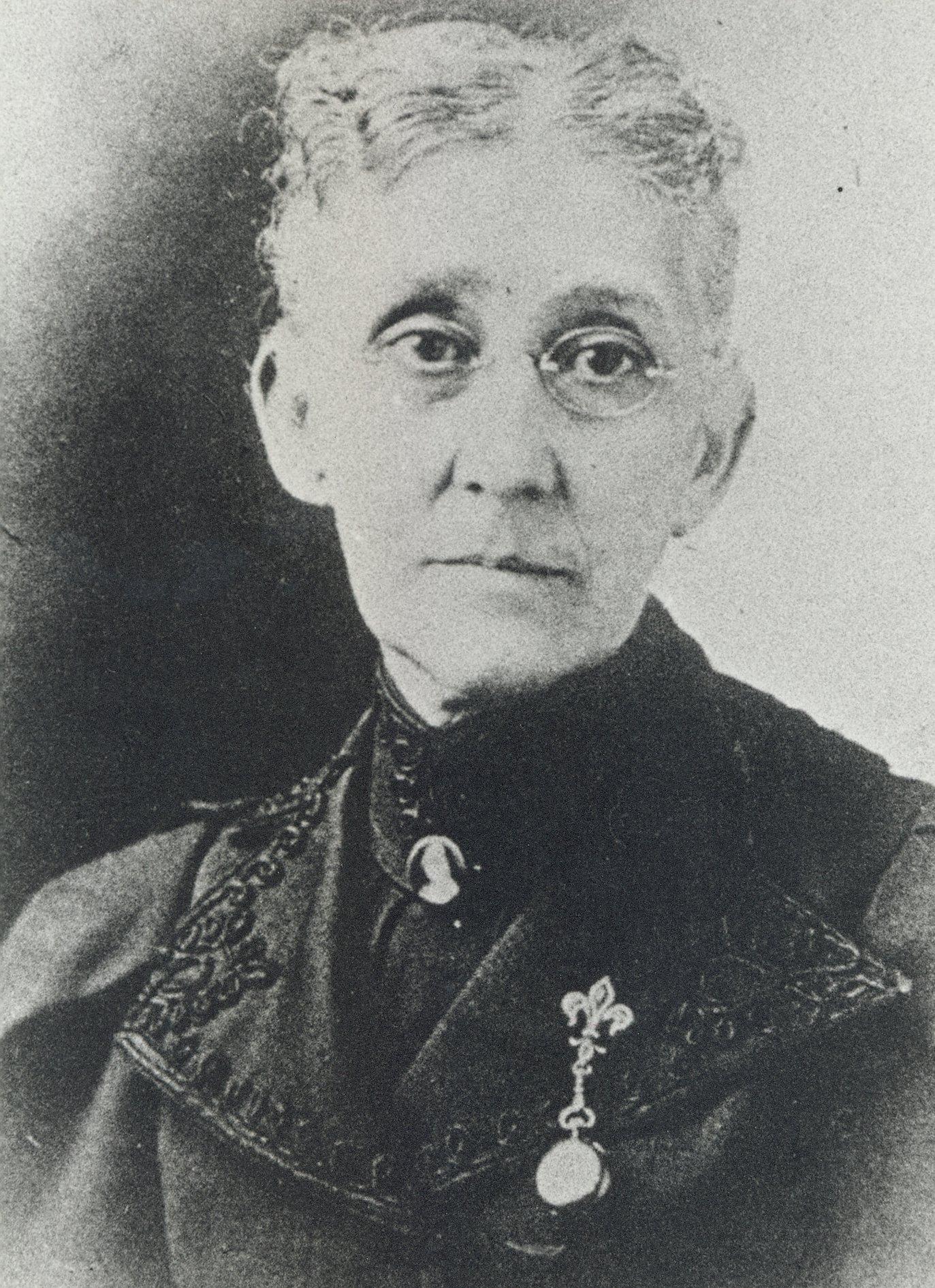 Mary Atkins, na 1886. Foto met dank aan Wikimedia Commons, CC0