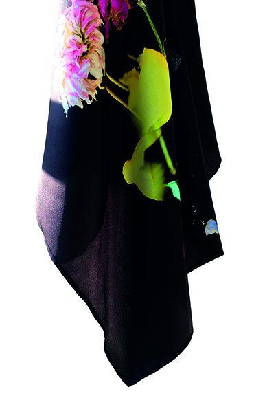 Jeannette Jansen, PoorMansBaroque, sjaal. Foto met dank aan Jeannette Jansen©