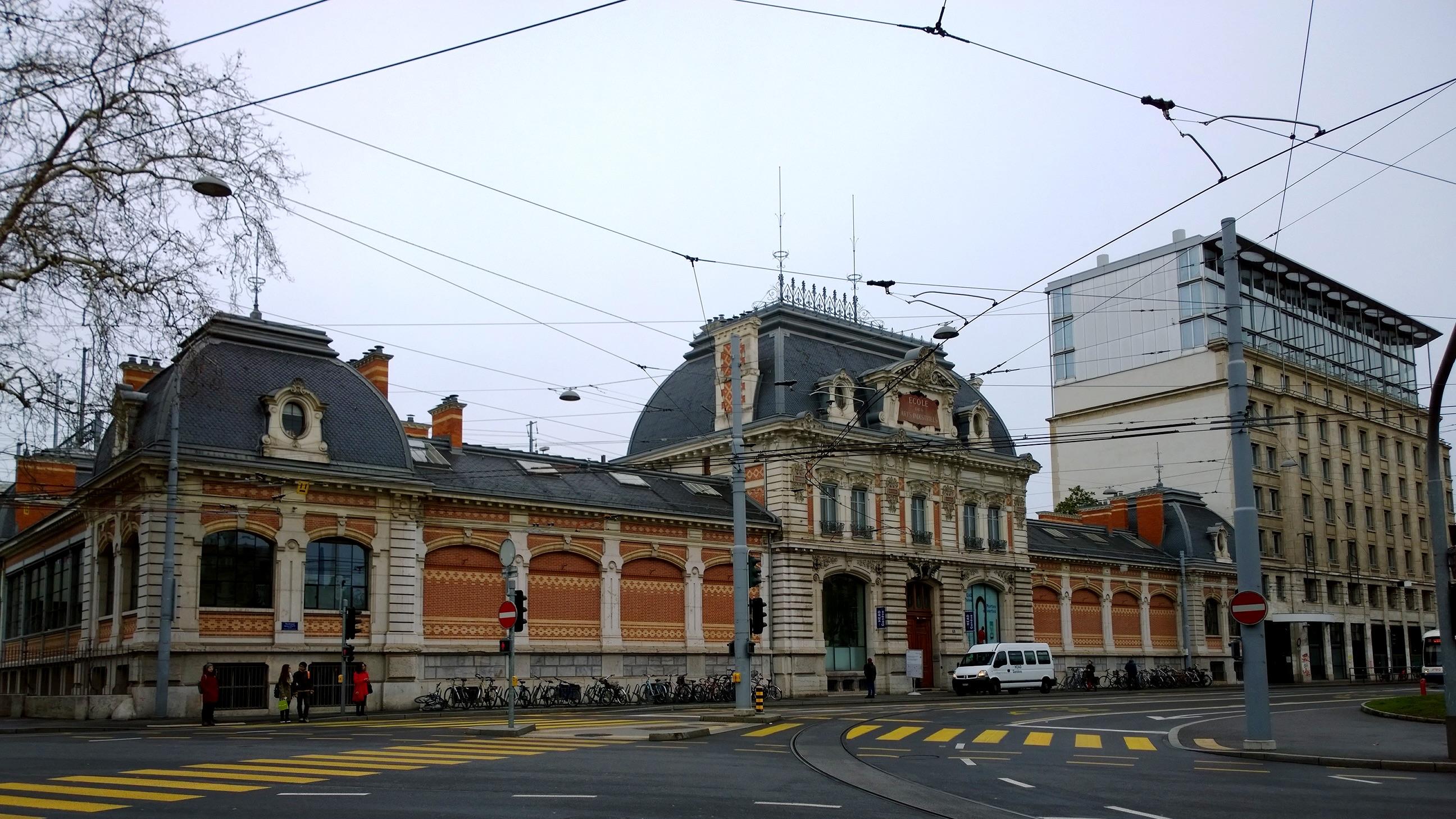 HEAD, Genève, 2018. Foto met dank aan Wikimedia Commons, Manuel Schmalstieg, CC BY-SA 4.0