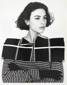 Claudie Berbée en Joke Brakman, Over-all 11c, Geruite kraag, 1984, textiel. Foto Anna Beeke, 1984©