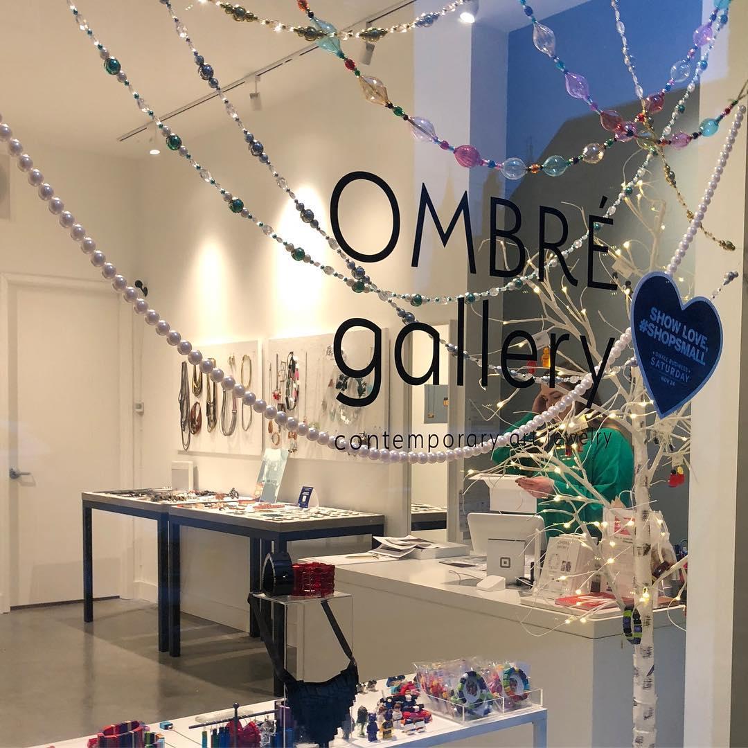 Winkelpui of etalage Ombré Gallery