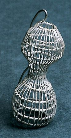 Jürgen Eickhoff, broche, 1998, zilver