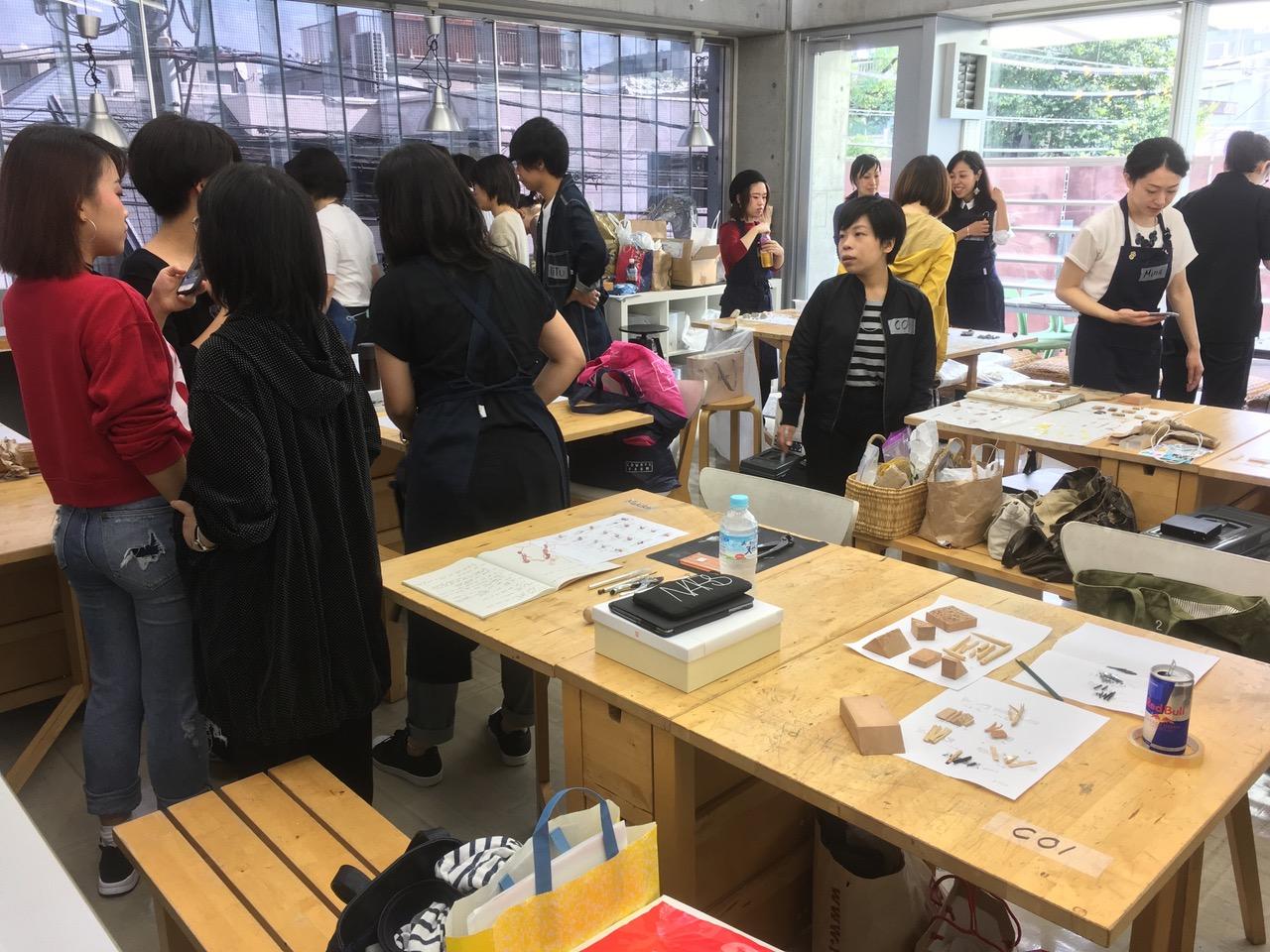 Hiko Mizuno College of Jewelry, Tokyo, 2016. Foto Beppe Kessler, klaslokaal