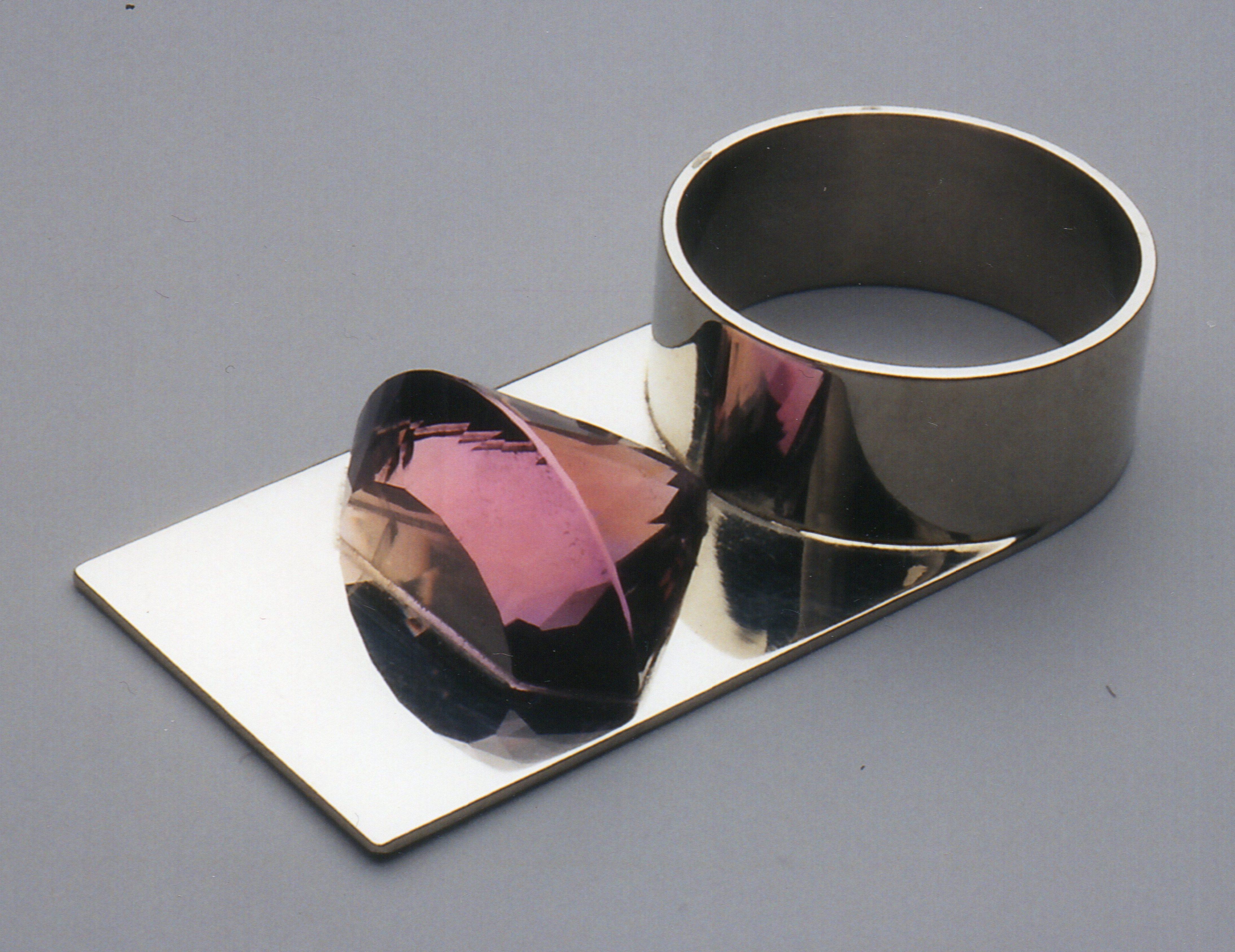 Herman Hermsen, ring, zilver, amethist