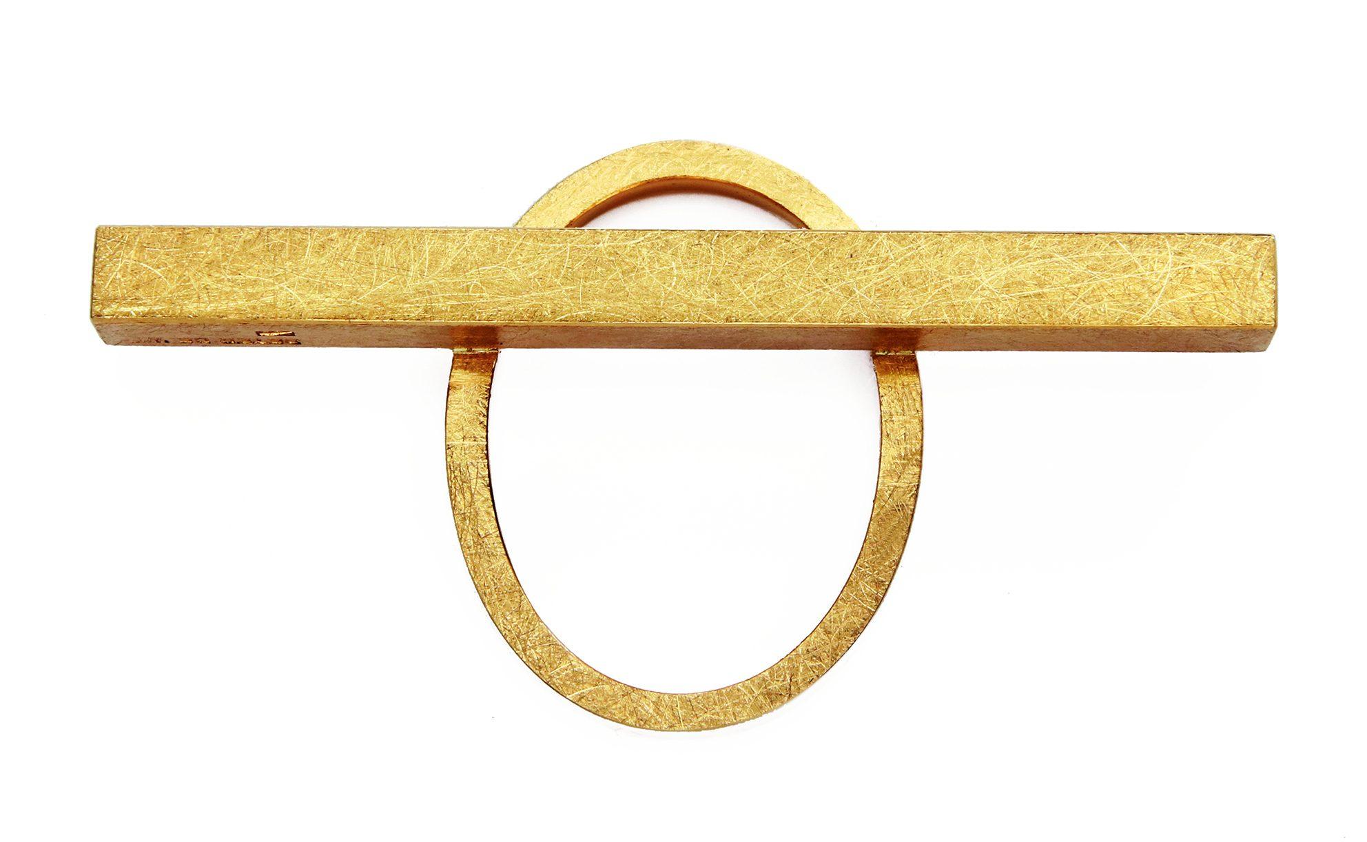 Peter de Wit, ring, 2019, goud