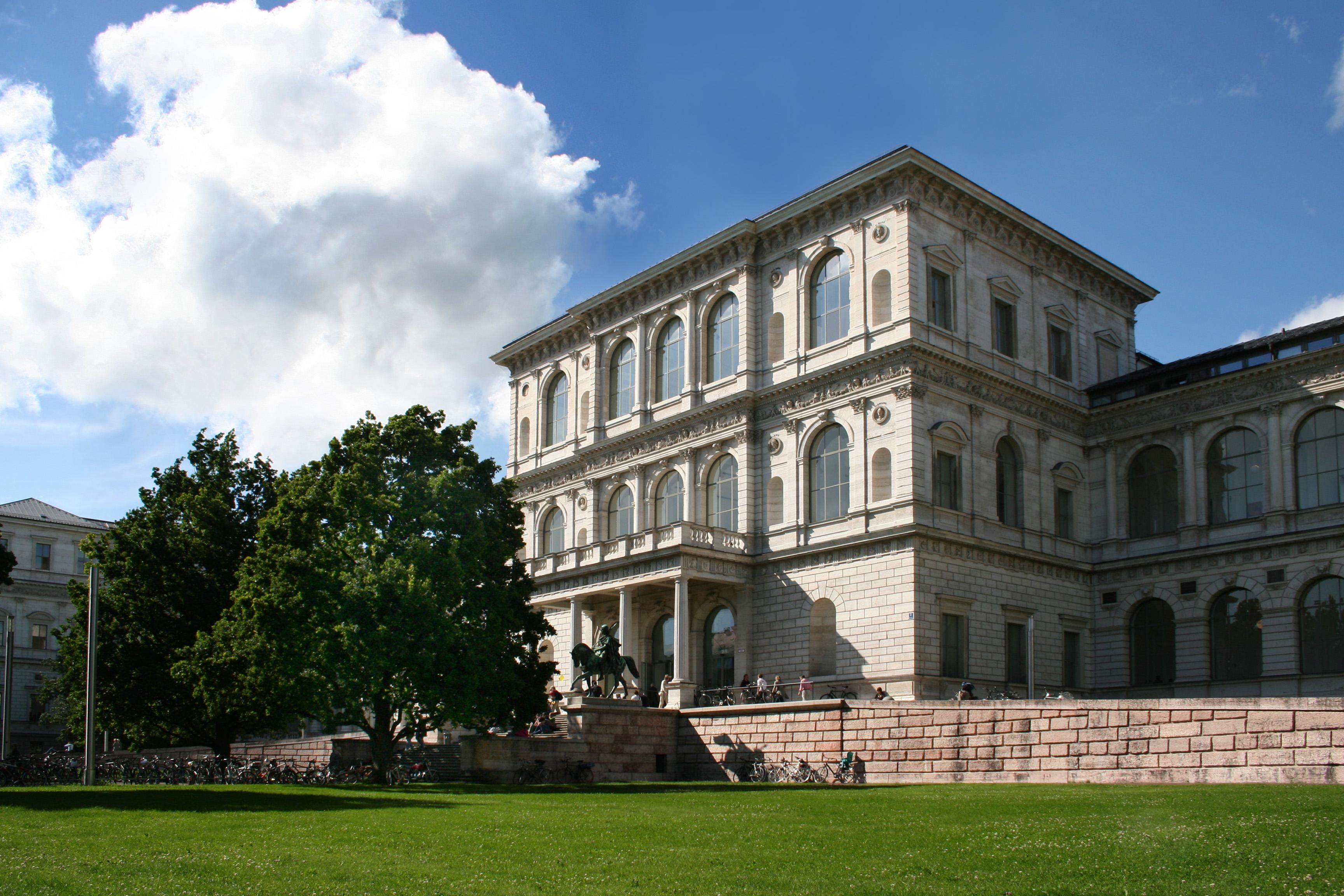 Akademie der Bildenden Künste, München, 2009. Foto David Kostner, exterieur, gebouw
