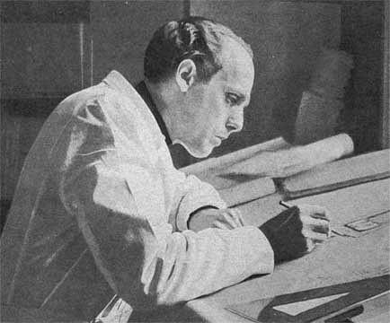 Sigurd Persson, 1952, portret