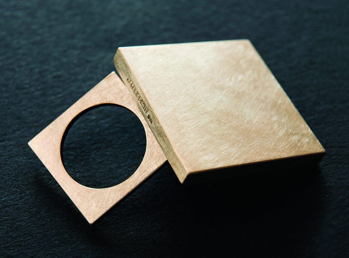 Peter de Wit, ring, 2018, goud