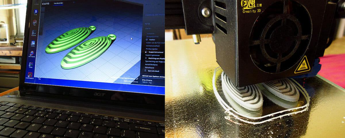 3D-printer. Foto Ben Wisman