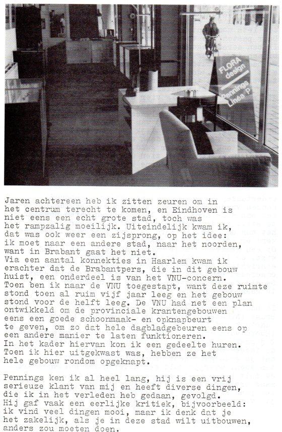 Clemens van den Broeck in het VES bulletin, 2, papier, typoscript