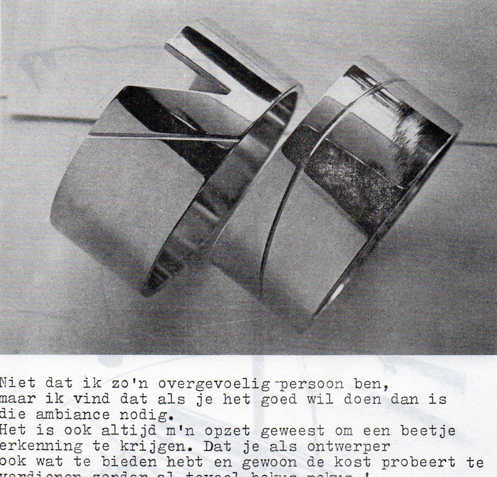 Clemens van den Broeck in het VES bulletin, 14, papier, typoscript
