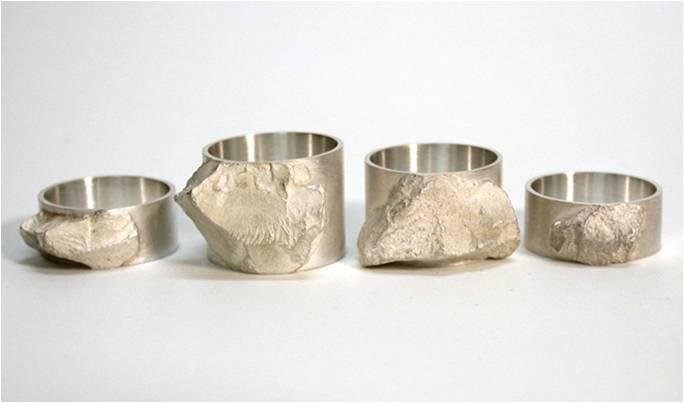 Vered Kaminski, ringen, metaal