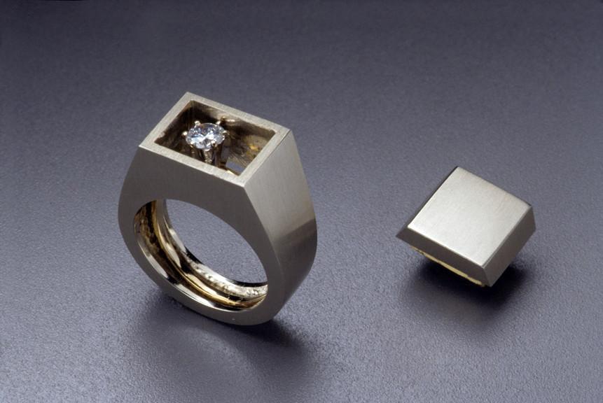 Sondra Sherman, Hidden Agender, ring, 1999