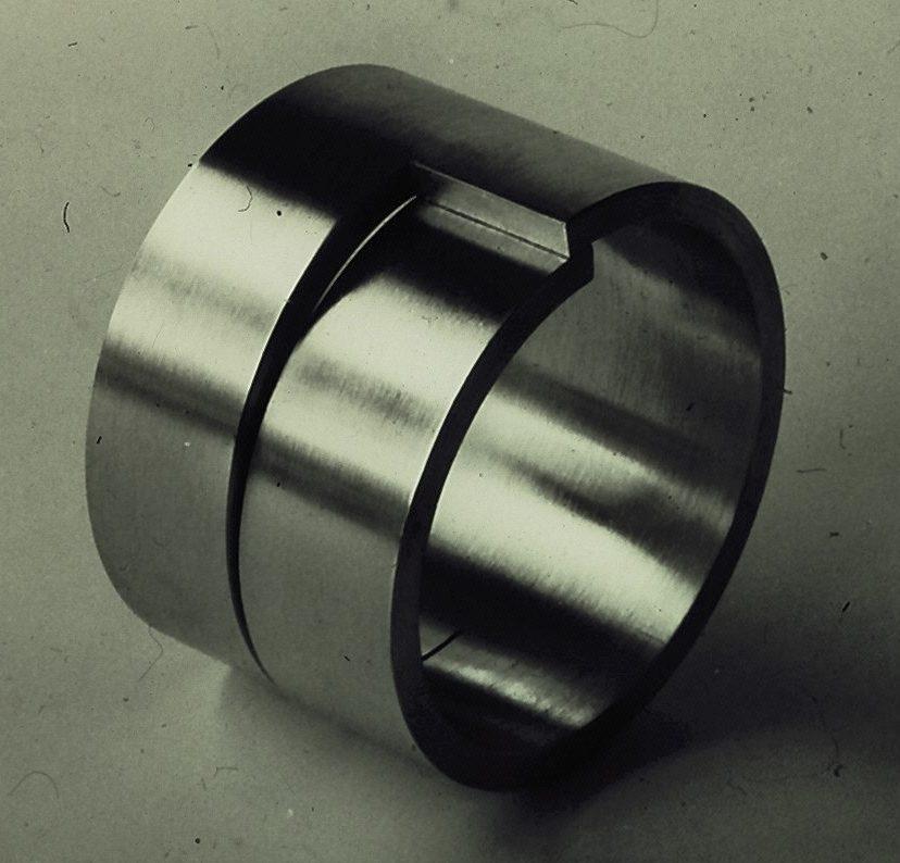 Gijs Bakker, armband, 1971, aluminium