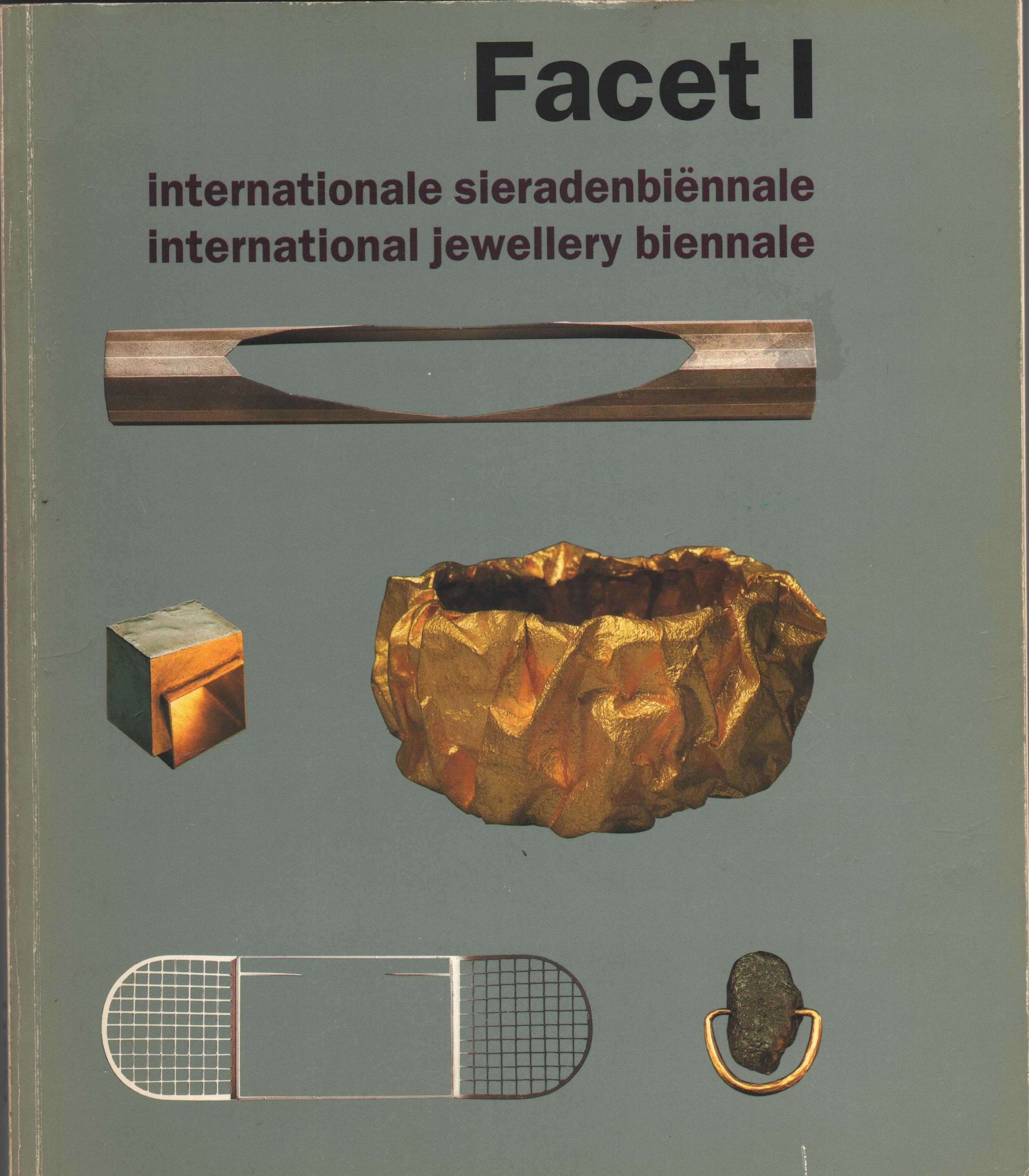 Facet I, catalogus, omslag voorzijde, 1993, Kunsthal Rotterdam, omslag, papier