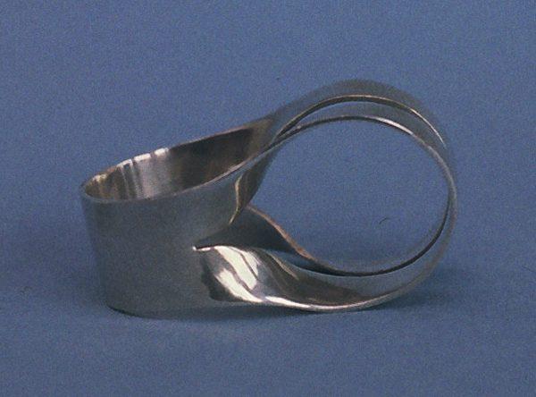 Lous Martin, ring, 1969, zilver
