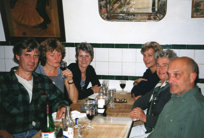 Sylvia Blickman, Lous Martin, Paula Crespo, Lissabon, 2001, portret