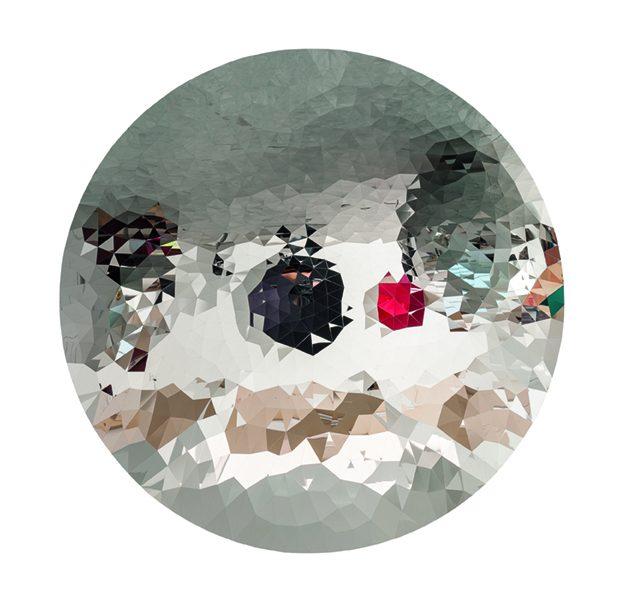 Anish Kapoor, Random Triangle Mirror, 2017. Wonderkamer I door Axel Vervoordt, 2018