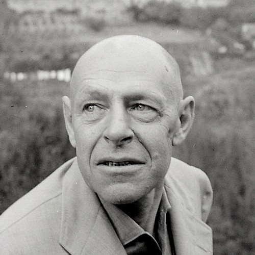 Paolo Monti, portret Jean Dubuffet, 1965