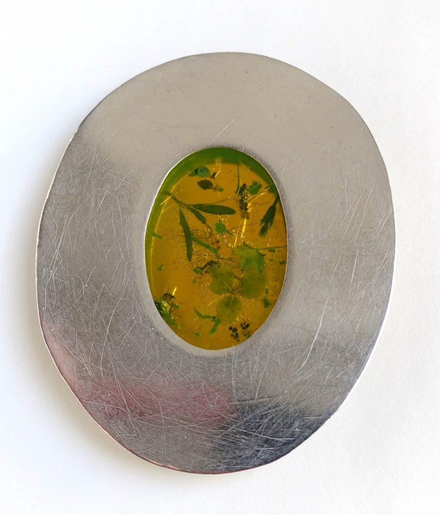 Daniel Kruger, broche, 2006, metaal