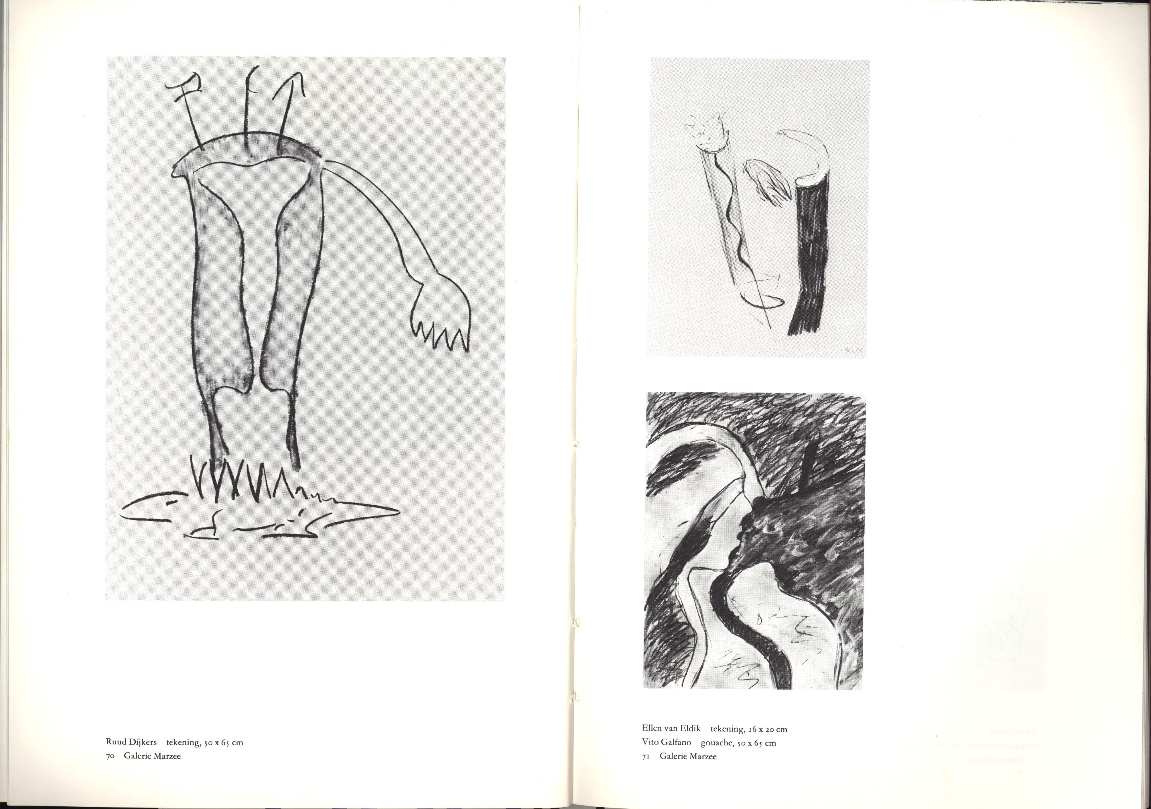 Galerie Marzee, papier, drukwerk