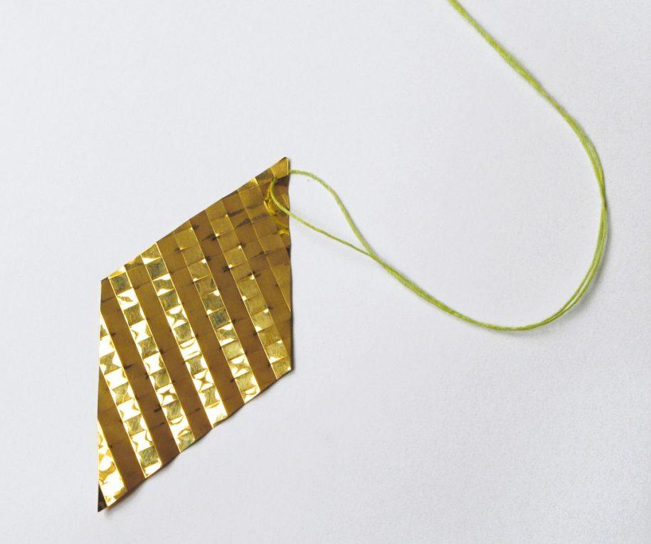 Marc Monzó, hanger, goud, koord