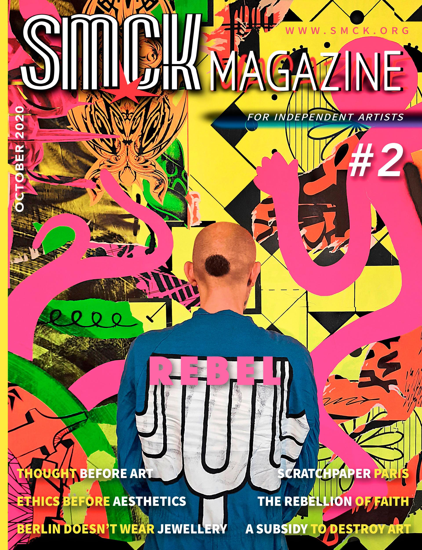 Omslag SMCK #2, SCRATCH PAPER, 2020, Noémie Breil