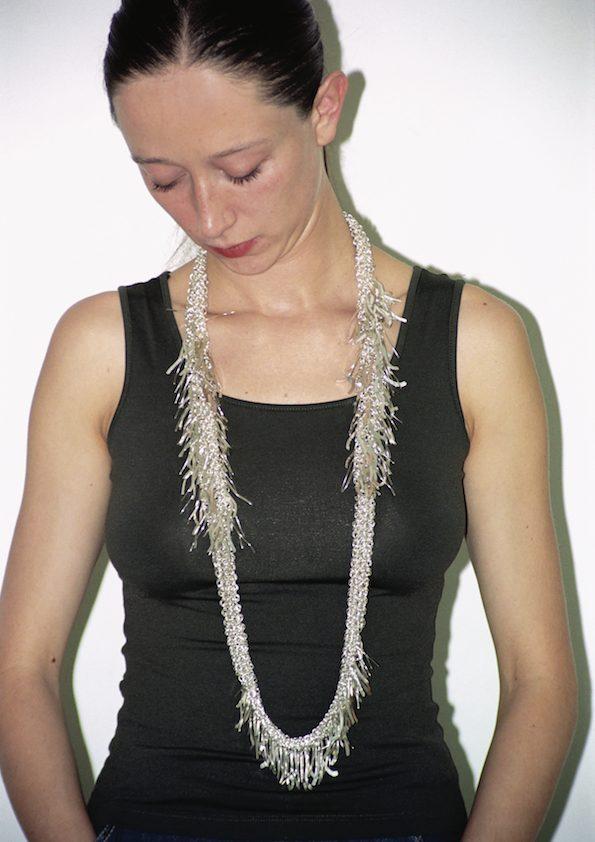 Paula Crespo, halssieraad, 2002, zilver