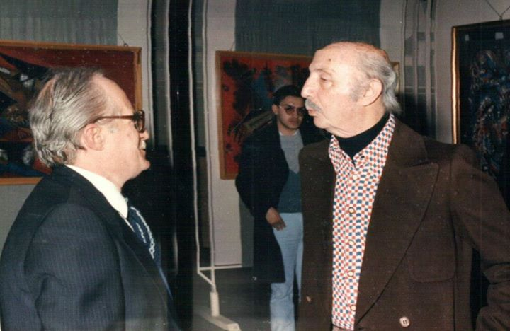 Vittorio Miele en Umberto Mastroianni, portret