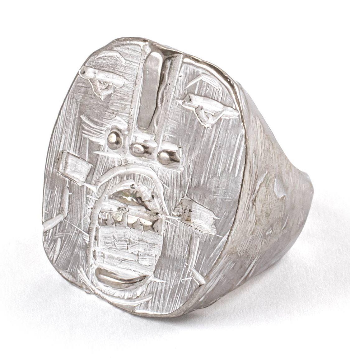 Kalkidan Hoex, New Tribe Ring Ten, ring, zilver