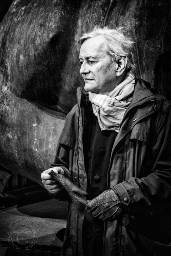 Andrea Bosio, Igor Mitoraj, foto, 29 april 2014. Foto, portret