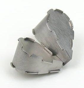 Simon Cottrell, Double Drop, 2011, Monel 400, roestvrij staal