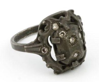 Karl Fritsch, Ring #441, ring, 2013, zilver, diamant
