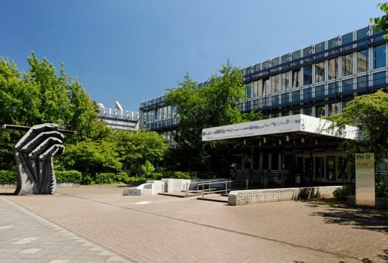Fachhochschule für Gestaltung (Düsseldorf). Foto Wiegels, exterieur