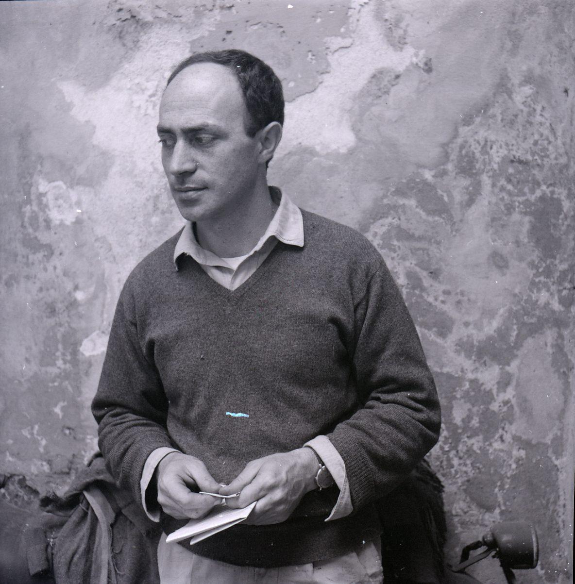 Paolo Monti, portret van Arnaldo Pomodoro, 1961