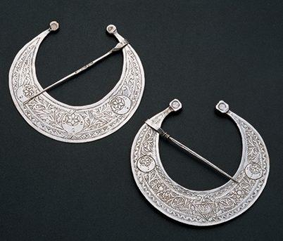 Sieraden, Tunesië, 1900-1949. Collectie World Jewellery Museum, zilver