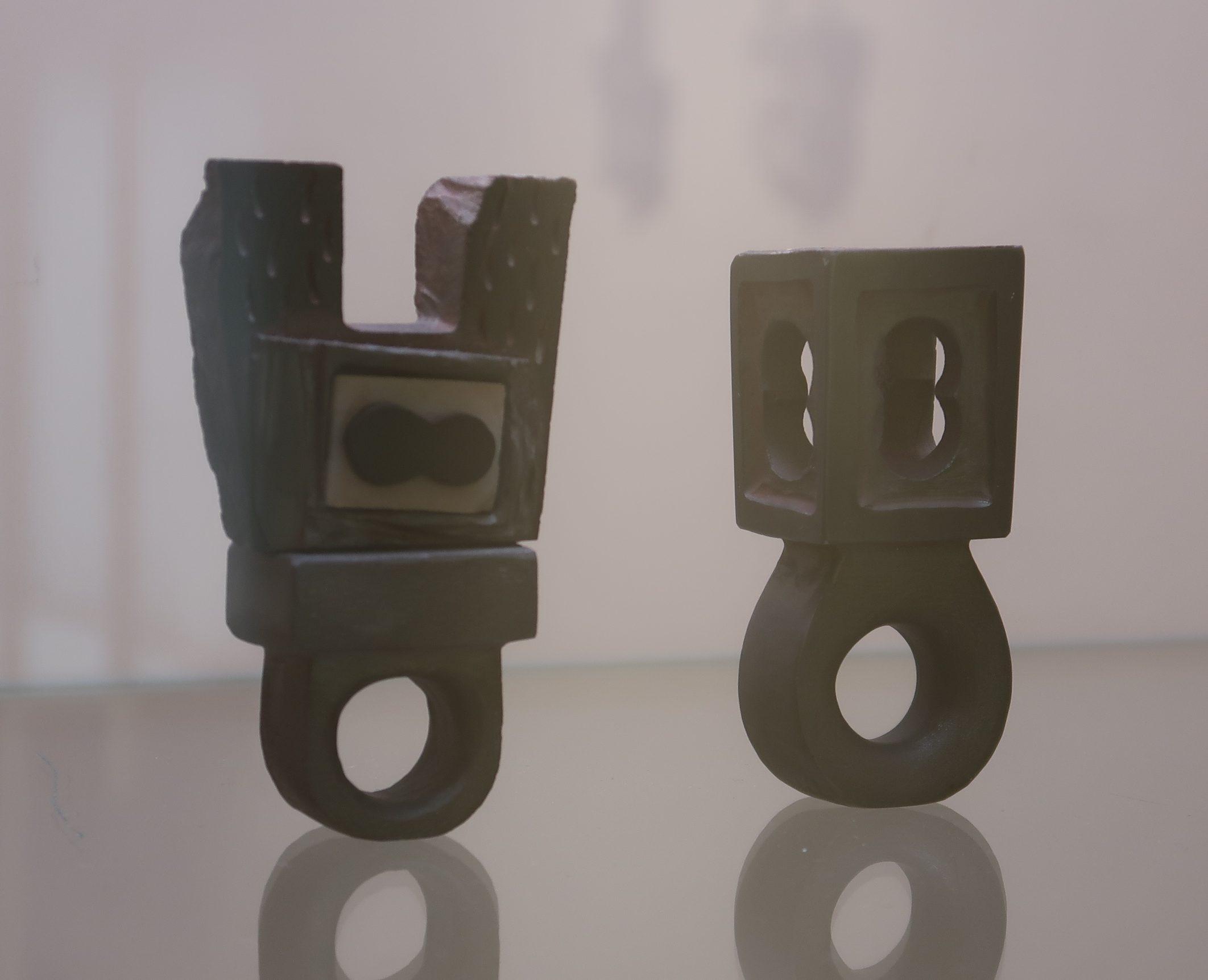 Ringen, Stones - The Final Cut, Galerie Handwerk, München, 11 maart 2020. Foto Coert Peter Krabbe, tentoonstelling