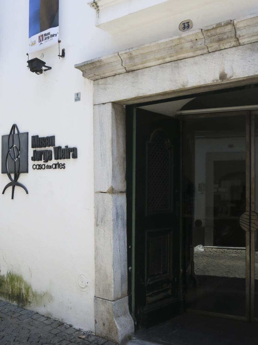 Museu Jorge Vieira. Foto Manuelvbotelho, museum, gevel, entree