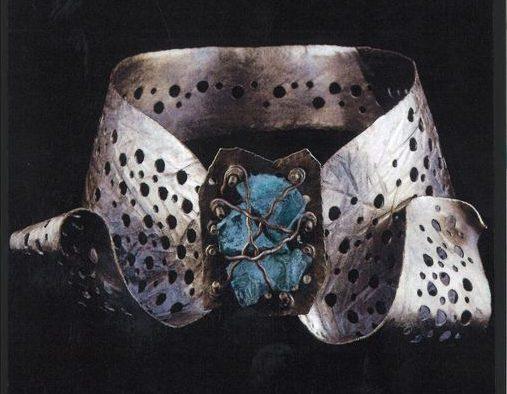 Alberto Gordillo, halssieraad, 1958. Collectie Museu Alberto Gordillo, zilver