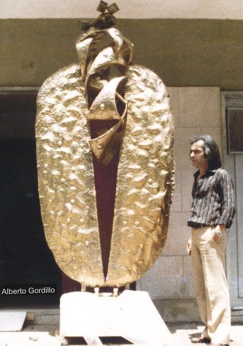 Alberto Gordillo, beeldhouwwerk, 1983, portret