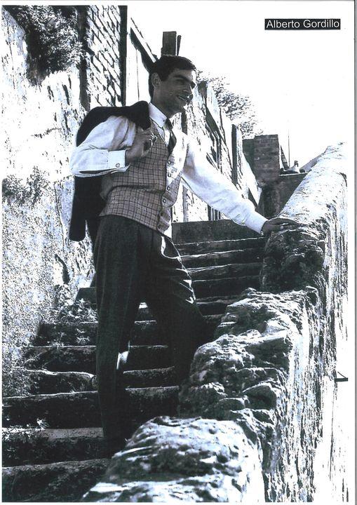 Alberto Gordillo, 1963, portret