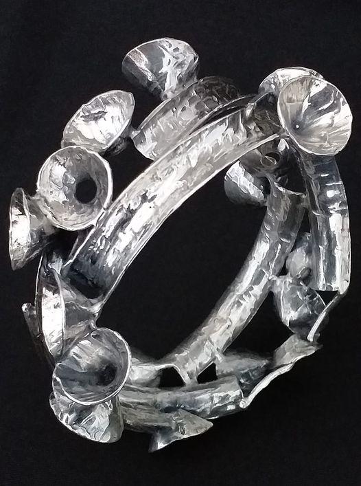 Alberto Gordillo, armband, zilver