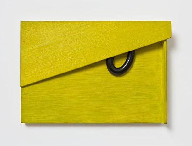 Otto Künzli, OK: Quidam I, 2016, hout, git, acrylverf