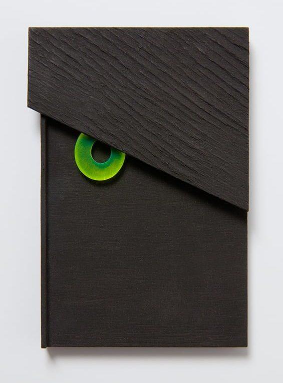 Otto Künzli, OK: Quidam II, 2016, hout, acryl