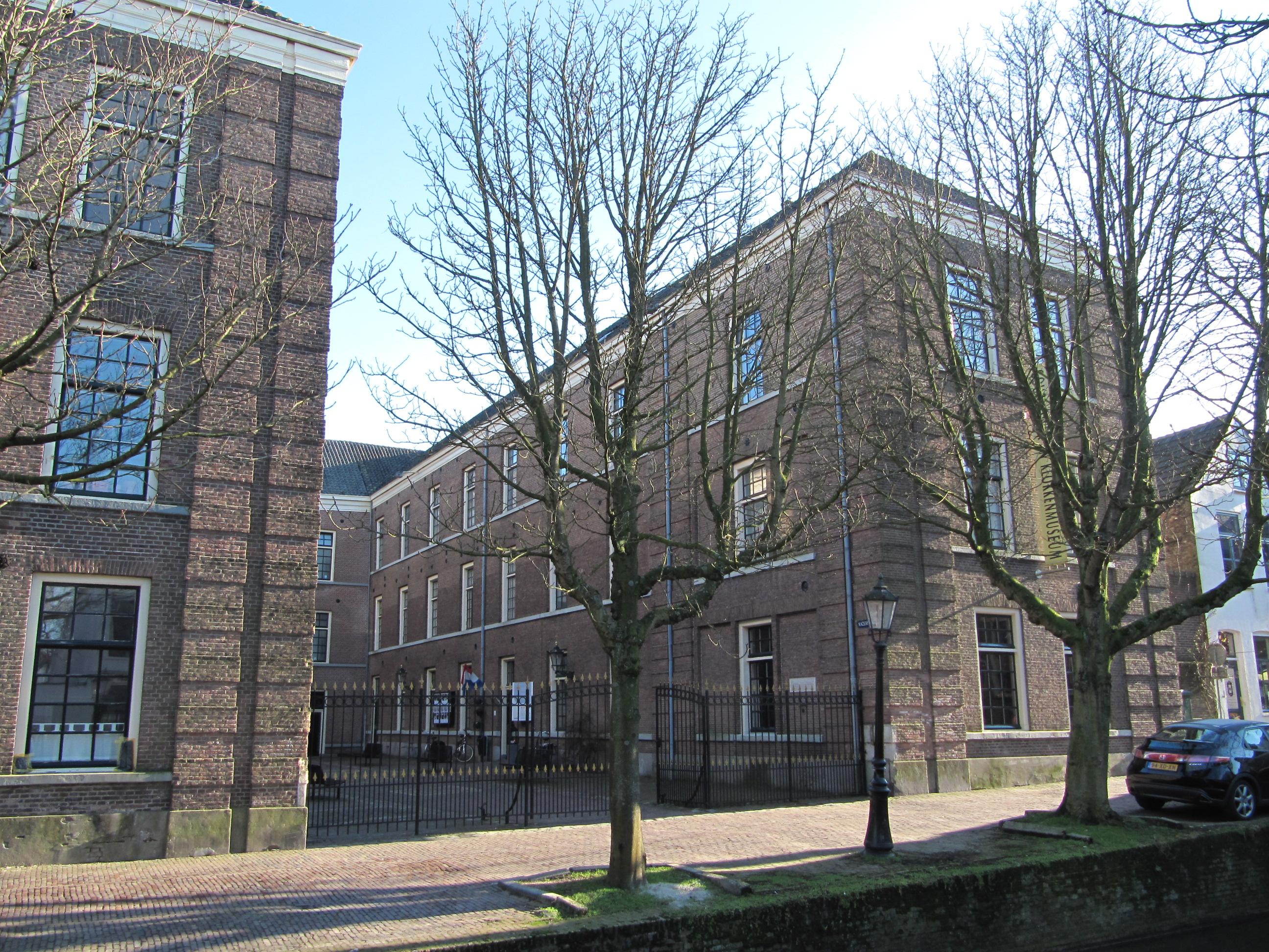 Zilvermuseum Schoonhoven in Havenkazerne, 2011. Foto Michiel1972, gevel, exterieur