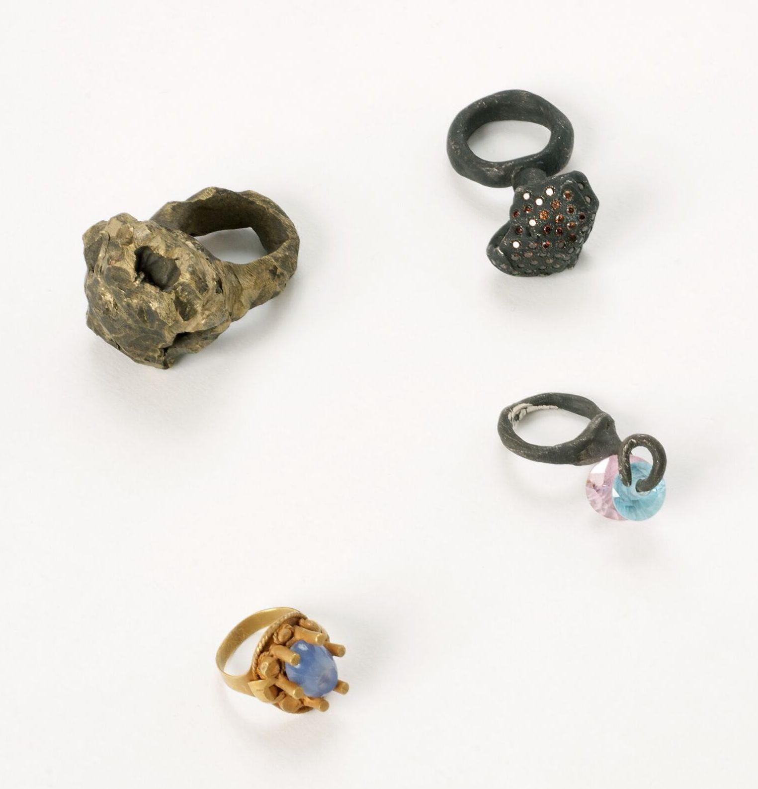 Karl Fritsch, ringen, zilver, zirconia