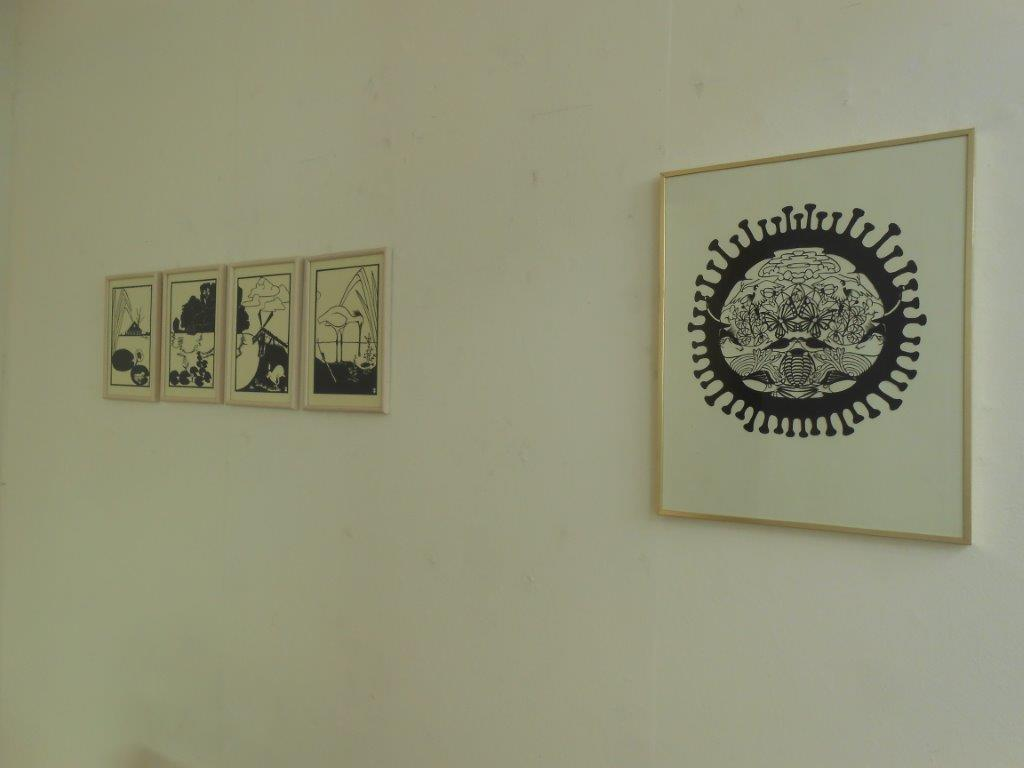 Papier ZILVER Staal, Galerie Niek Waterbolk, 2021. Foto Maja Houtman, tentoonstelling